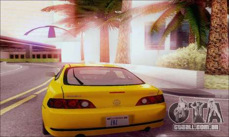 Acura RSX para GTA San Andreas vista direita