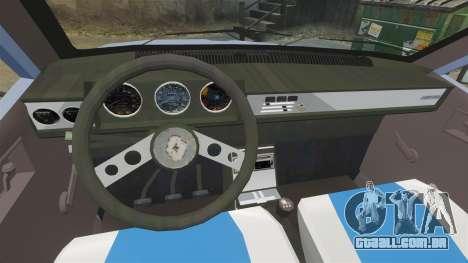 Renault 12 Toros v2.0 para GTA 4 vista de volta