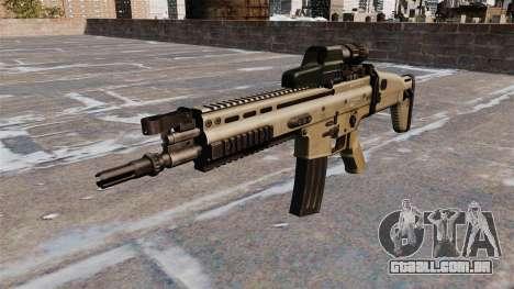 Fuzil de assalto FN SCAR para GTA 4