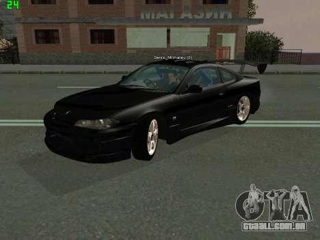 Nissan Silvia S15 Tuning para GTA San Andreas esquerda vista
