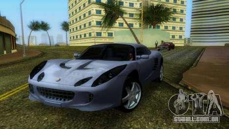 Lotus Elise para GTA Vice City