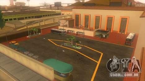 Estação de autocarros, Los Santos para GTA San Andreas