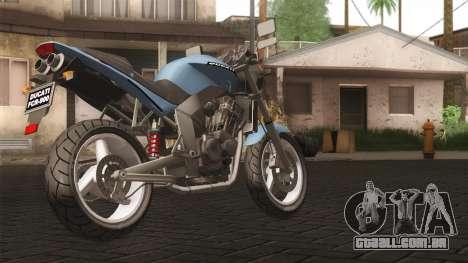 Ducati FRC900 v3 para GTA San Andreas esquerda vista
