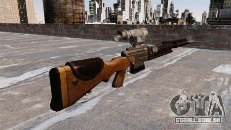 O rifle sniper FR F2 para GTA 4 segundo screenshot