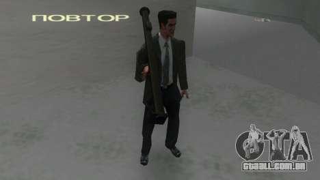 Bazuca de MoH: AA para GTA Vice City terceira tela