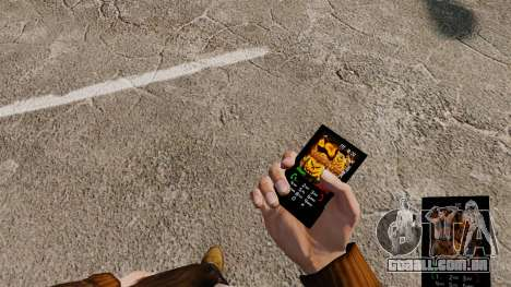 Tema de Halloween para seu telefone para GTA 4