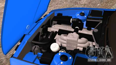 BMW 535i E34 Mafia Style para GTA San Andreas vista superior