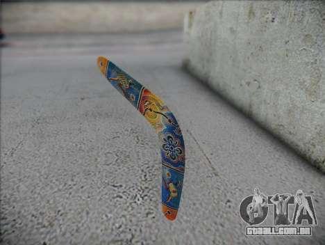 Bumerangue para GTA San Andreas segunda tela