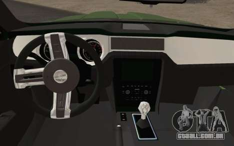 Ford Mustang GT 2013 para GTA San Andreas vista direita