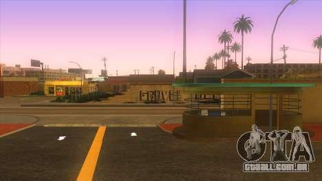 Estação de autocarros, Los Santos para GTA San Andreas por diante tela