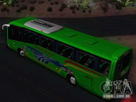 Irizar Mercedes Benz MQ2547 Alabat Liner para GTA San Andreas vista superior