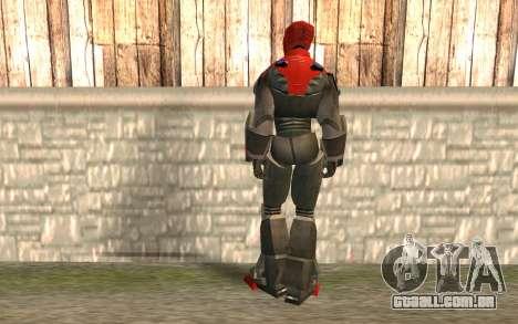 Iron Man para GTA San Andreas segunda tela
