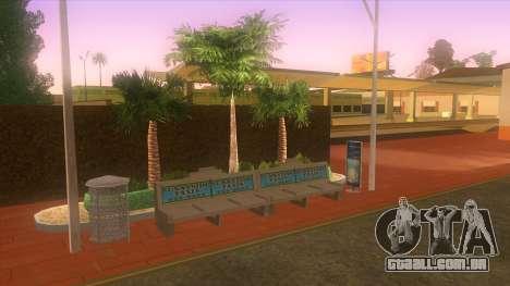 Estação de autocarros, Los Santos para GTA San Andreas sexta tela
