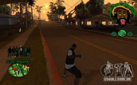 Com Groove-HUD St 4Life para GTA San Andreas