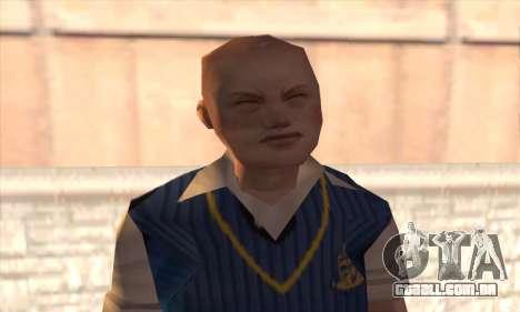 Jimmy Hopkins para GTA San Andreas terceira tela