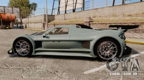 Gumpert Apollo S 2011 para GTA 4 esquerda vista