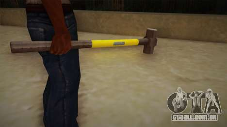 Sledge Hammer para GTA San Andreas terceira tela