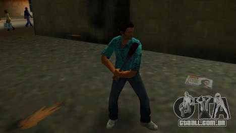 Taco de beisebol manchada de sangue para GTA Vice City terceira tela