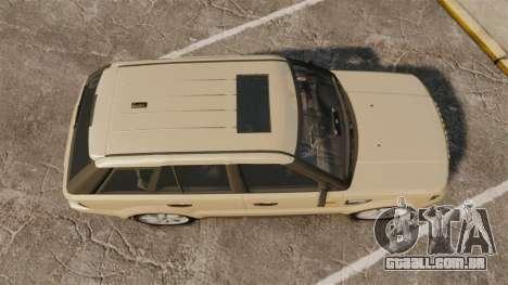 Range Rover Sport Unmarked Police [ELS] para GTA 4 vista direita