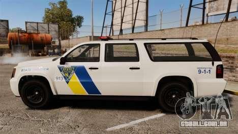 GTA V Declasse Police Ranger LCPD [ELS] para GTA 4 esquerda vista