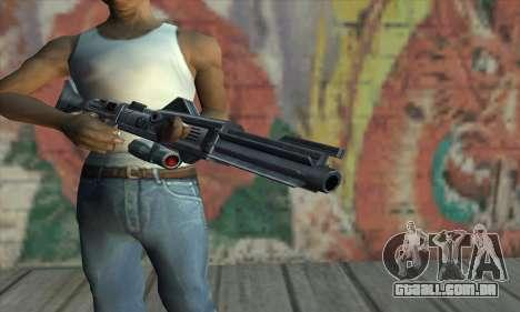 Rifle de Star Wars para GTA San Andreas terceira tela