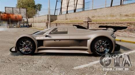 Gumpert Apollo S 2011 para GTA 4 esquerda vista