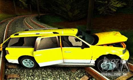 Landstalker GTA IV para GTA San Andreas vista inferior