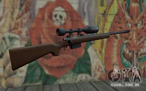 Sniper Rifle HD para GTA San Andreas segunda tela