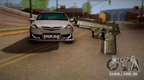 A arma fora o Max Payne para GTA San Andreas