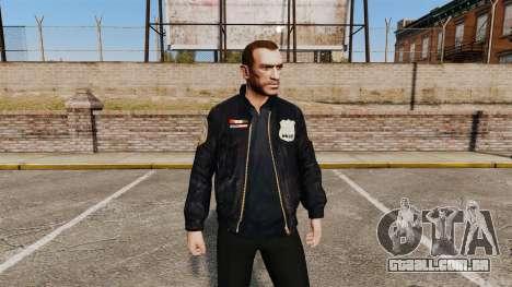 Jaqueta de polícia para GTA 4