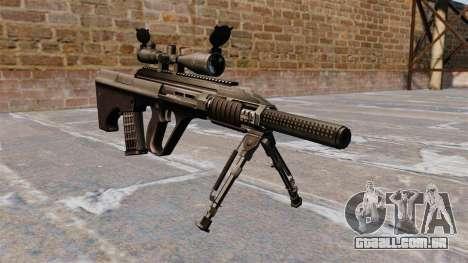 Automatic rifle Steyr AUG3 para GTA 4