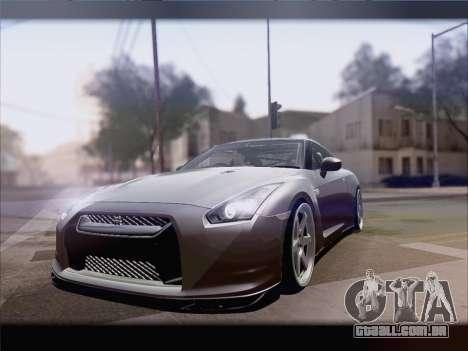Nissan GT-R Spec V Stance para GTA San Andreas