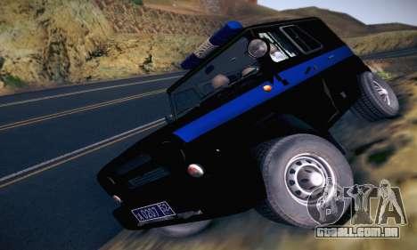 UAZ Hunter polícia para GTA San Andreas