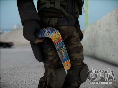 Bumerangue para GTA San Andreas terceira tela