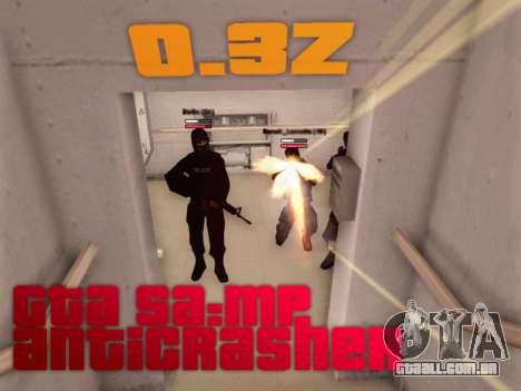 Anti-queda para GTA SA: MP [0.3 z] [v1] para GTA San Andreas
