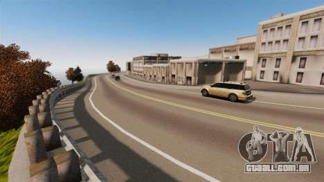 A cidade sem nome para GTA 4 por diante tela