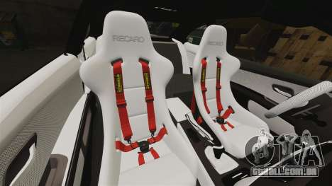 BMW M3 GTS Widebody para GTA 4 interior