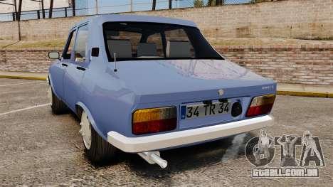 Renault 12 Toros v2.0 para GTA 4 traseira esquerda vista