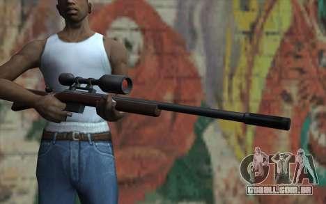 Sniper Rifle HD para GTA San Andreas terceira tela
