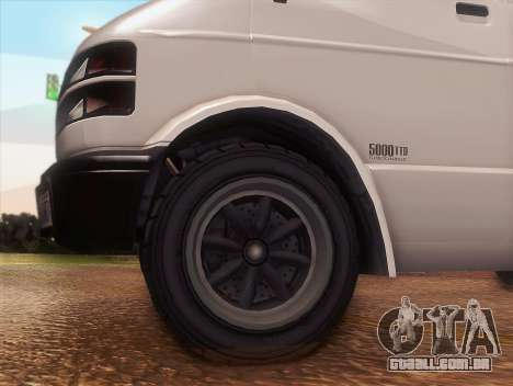 Cometer GTA 5 para GTA San Andreas vista direita