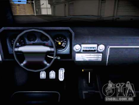 Lince de insípida GTA V para GTA San Andreas vista direita