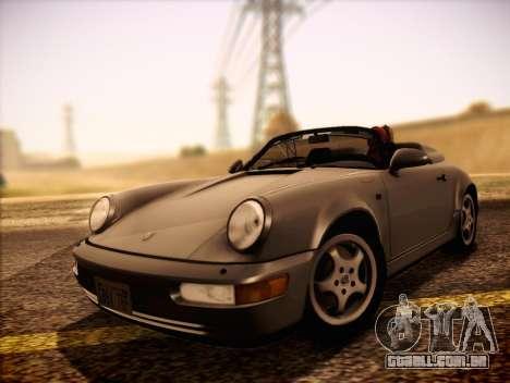 Porsche 911 Speedster Carrera 2 1992 para GTA San Andreas