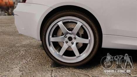 BMW 1M 2014 para GTA 4 vista de volta