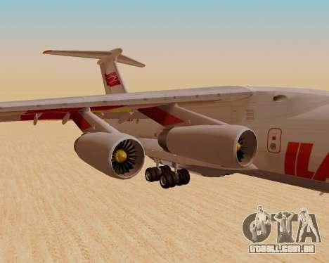 Il-76td IlAvia para GTA San Andreas vista direita