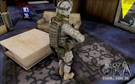 Quinton Cole para GTA San Andreas terceira tela
