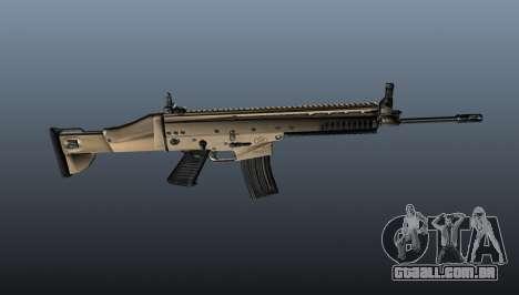 Fuzil de assalto SCAR-L para GTA 4 terceira tela