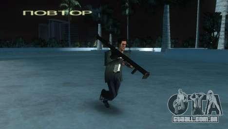 Bazuca de MoH: AA para GTA Vice City por diante tela