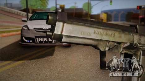A arma fora o Max Payne para GTA San Andreas terceira tela