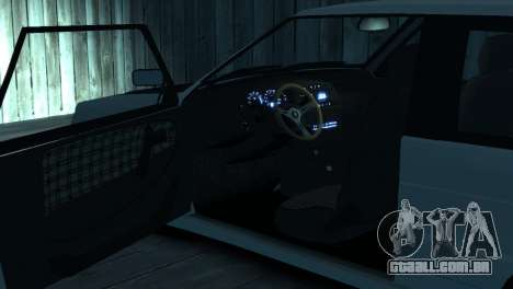 VAZ 2113 para GTA 4 interior
