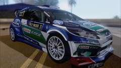 Ford Fiesta RS WRC 2013 hatchback de 3 portas para GTA San Andreas